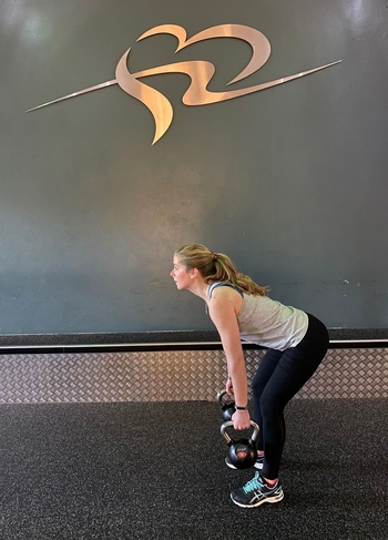 Kettlebell Lift and Row