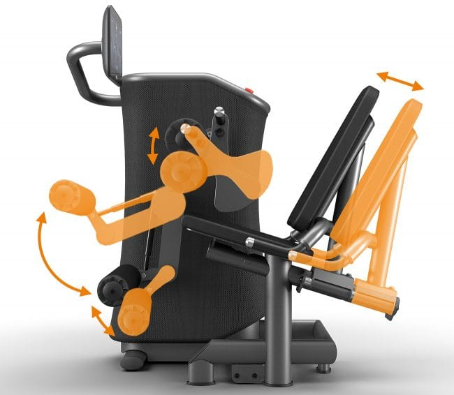 Egym Digital Exercise Machine