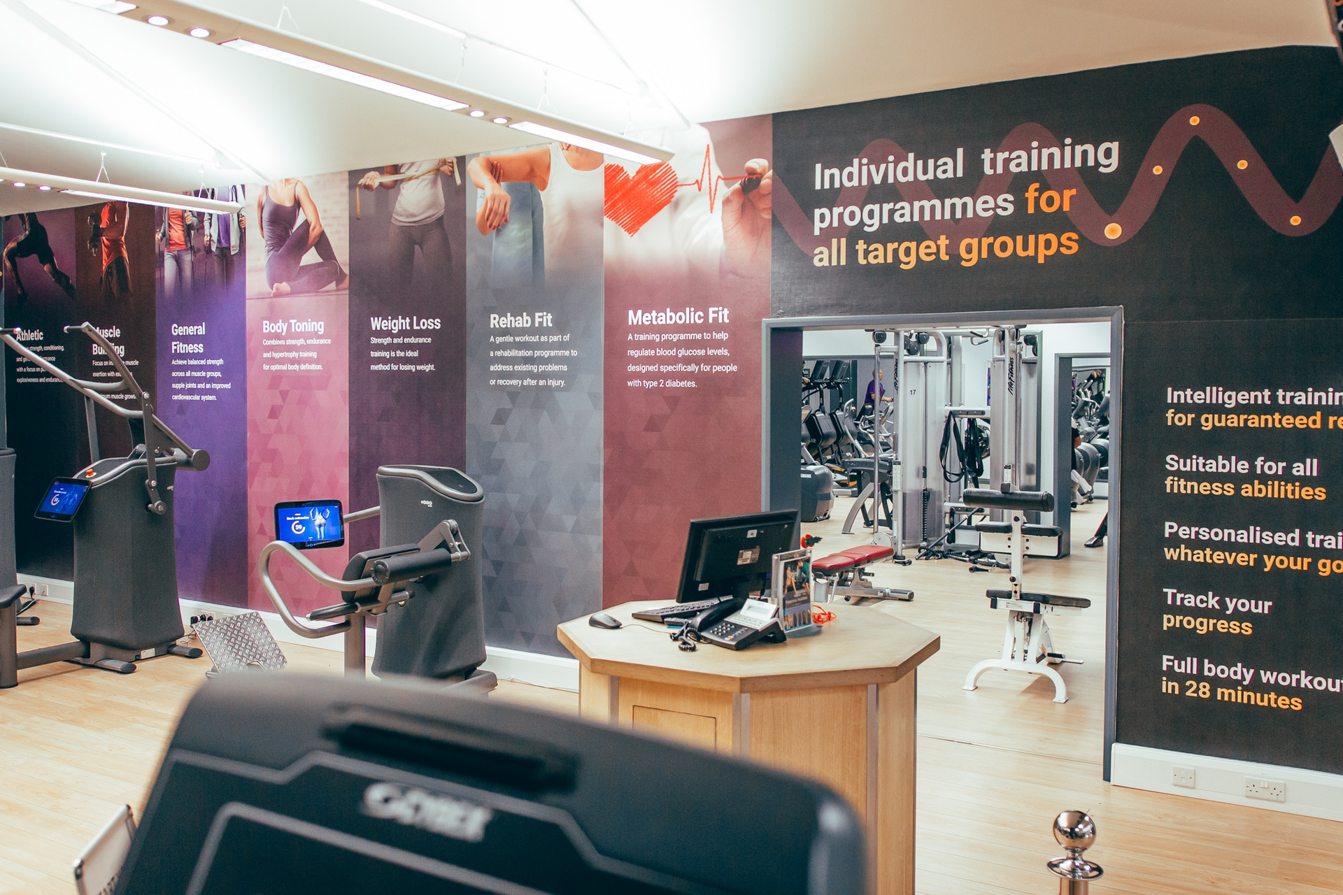 Egym Basildon State Of The Art Fitness Equipment Club Kingswood